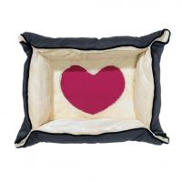 Hundebett/-decke 2-in-1 - Heart